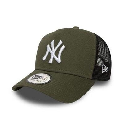 e9d6de6e66ba3 Casquette Femme New Era New York Yankees Trucker Olive Casquette Femme New  Era New York Yankees