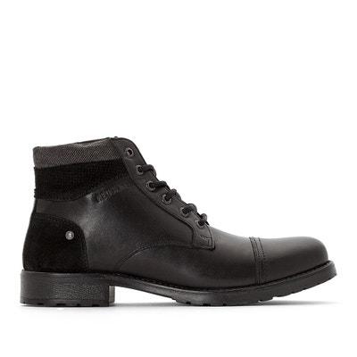 Ebien Leather Ankle Boots Ebien Leather Ankle Boots REDSKINS