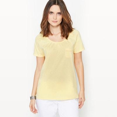 Camiseta de algodón y modal Camiseta de algodón y modal ANNE WEYBURN