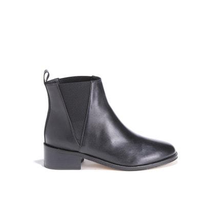L'Entêtée Smooth Leather Heeled Ankle Boots L'Entêtée Smooth Leather Heeled Ankle Boots BOBBIES