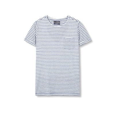 Camiseta a rayas, cuello redondo Camiseta a rayas, cuello redondo ESPRIT