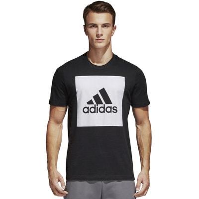 Crew Neck T-Shirt with Motif ADIDAS PERFORMANCE
