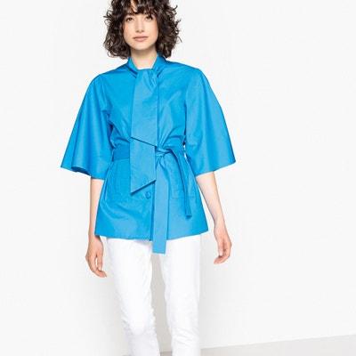 Taillierte Jacke, Schleife, ellbogenlange Ärmel Taillierte Jacke, Schleife, ellbogenlange Ärmel La Redoute Collections