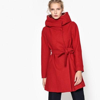 Пальто с высоким воротником La Redoute Collections
