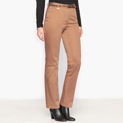 Pantalon marron femme en solde   La Redoute a47532f00e67