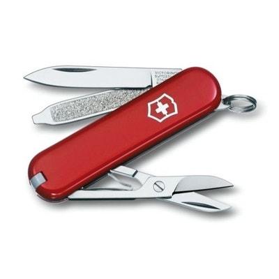 Couteau Suisse de Poche - Victorinox Classic SD - 0.6223 - Rouge - 7 Pieces VICTORINOX