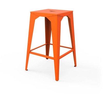 tabouret haut cuatro tabouret haut cuatro zhed - Tabouret Bar Orange