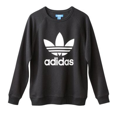 Cotton Mix Crew Neck Sweatshirt Adidas originals