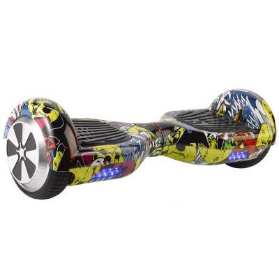 Hoverboard skate électrique 6.5 pouces Smartboard Gyropode 36V Comics Hoverboard skate électrique 6.5 pouces Smartboard Gyropode 36V Comics Yonis
