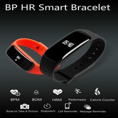 Montre Intelligente IOS Android Bracelet Connecté Cardiofrequencemetre  Montre Intelligente IOS Android Bracelet Connecté Cardiofrequencemetre Yonis 91255b4875c2