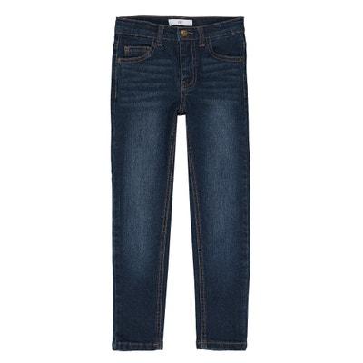 Jeans slim para morfologia larga, 3-12 anos Jeans slim para morfologia larga, 3-12 anos La Redoute Collections