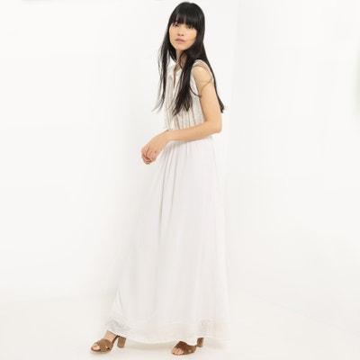 Vestido largo liso, sin mangas Vestido largo liso, sin mangas SUNCOO