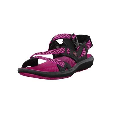 Maupin - sandales femme - rose/noir  Keen  La Redoute