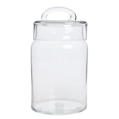 Vaso contenitore in vetro soffiato Vaso contenitore in vetro soffiato La Redoute Interieurs