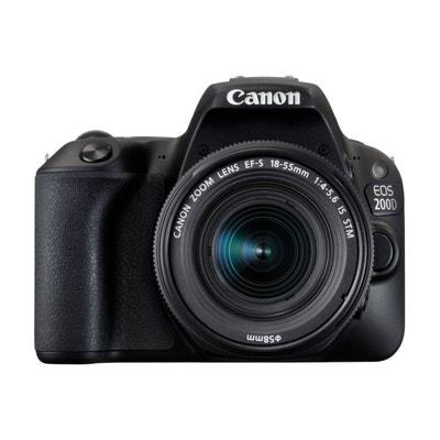 Appareil photo Reflex CANON EOS 200D Noir + 18-55mm IS STM CANON