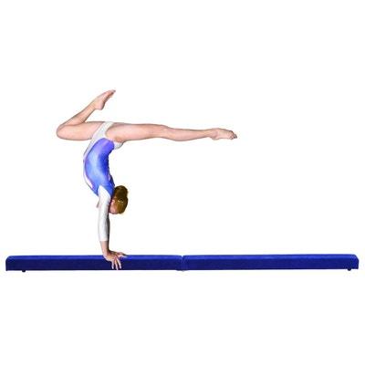 Poutre de gymnastique pliable 2,4 m Poutre de gymnastique pliable 2,4 m HOMCOM