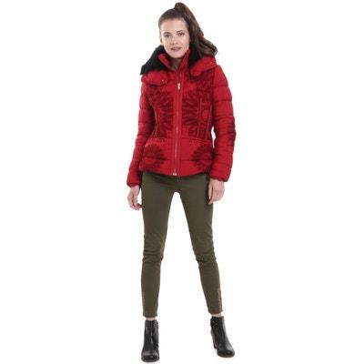Short Padded Jacket with Detachable Hood Short Padded Jacket with Detachable Hood DESIGUAL