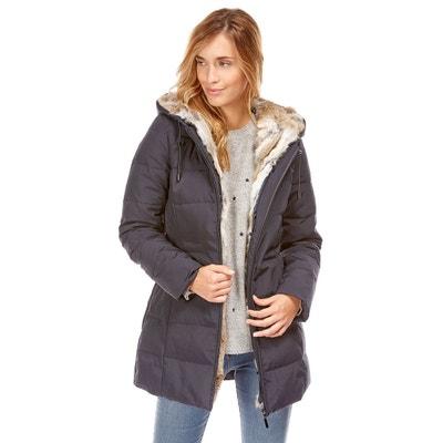 Manteau à capuche doublé fausse fourrure Manteau à capuche doublé fausse  fourrure BEST MOUNTAIN 32eac8cc636d