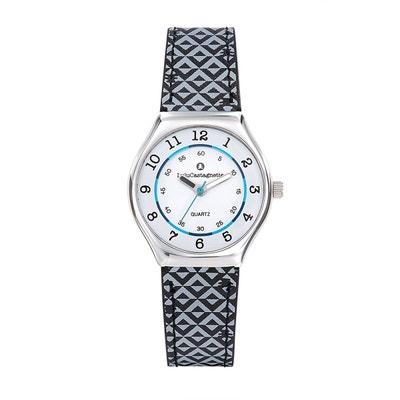 Montre analogique bracelet cuir MiniStar LULU CASTAGNETTE