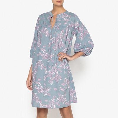 Camisa de dormir, motivo florido Camisa de dormir, motivo florido La Redoute Collections