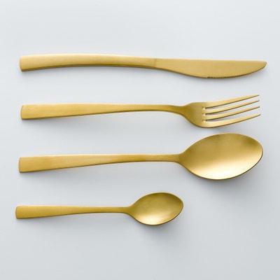 Confezione 4 forchette finitura dorata, AUBERIE La Redoute Interieurs