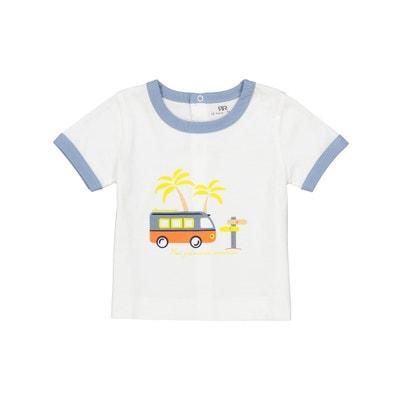 T-shirt met korte mouwen, 0 mnd - 2 jaar T-shirt met korte mouwen, 0 mnd - 2 jaar La Redoute Collections