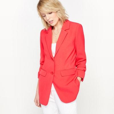 Long Jacket in Stretch Twill ANNE WEYBURN