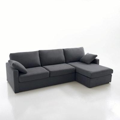 Canapé d'angle lit, couchage express, coton demi natté, Timor La Redoute Interieurs
