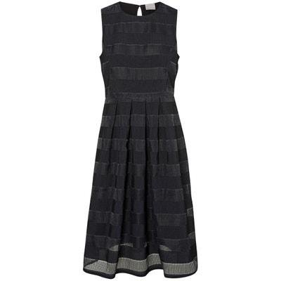 Plain Sleeveless Knee-Length Dress Plain Sleeveless Knee-Length Dress VERO MODA