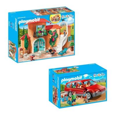 boite rangement pour playmobil en solde la redoute. Black Bedroom Furniture Sets. Home Design Ideas