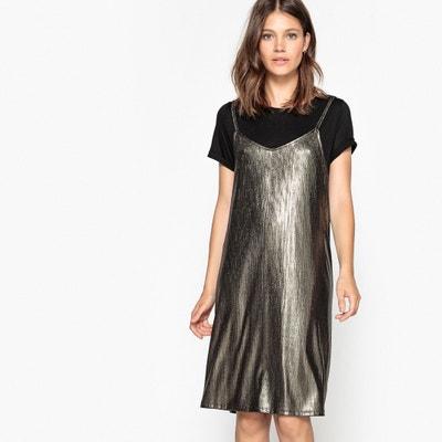2 In 1 Cami Slip Dress 2 In 1 Cami Slip Dress La Redoute Collections