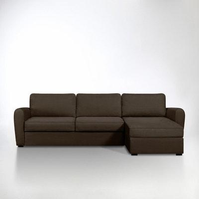 Canapé d'angle lit, couchage express, coton demi natté, Nalpha La Redoute Interieurs