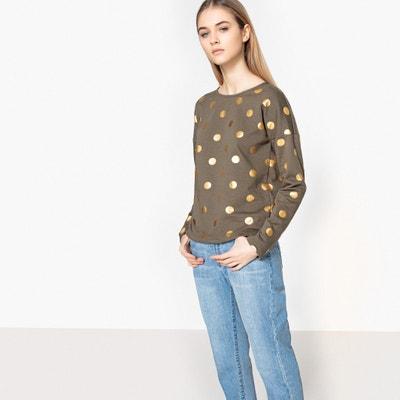 Bluza w złote groszki ONLY