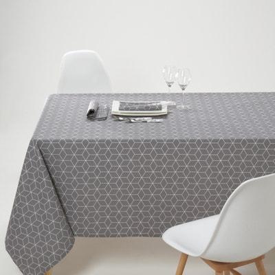 Toalha de mesa estampada em poli-algodão, Diamond La Redoute Interieurs