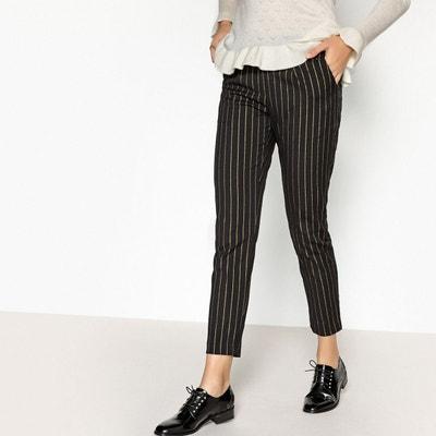 Pantalon droit rayé JAROD Pantalon droit rayé JAROD SUNCOO. Soldes 754be89fcbcc