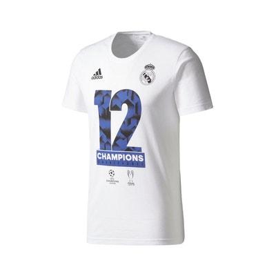 T-shirt Real Madrid Vainqueur UEFA Champions League 2017 Blanc adidas  Performance c732b8c8fe2