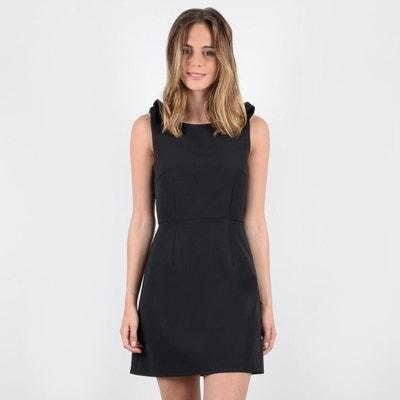 Korte effen rechte jurk zonder mouwen Korte effen rechte jurk zonder mouwen MOLLY BRACKEN