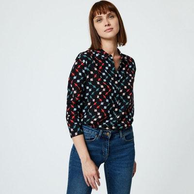 La en Monoprix Redoute femme chemise solde q0IwxI
