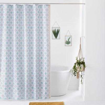 Cortina de duche estampada, SALERNES Cortina de duche estampada, SALERNES La Redoute Interieurs