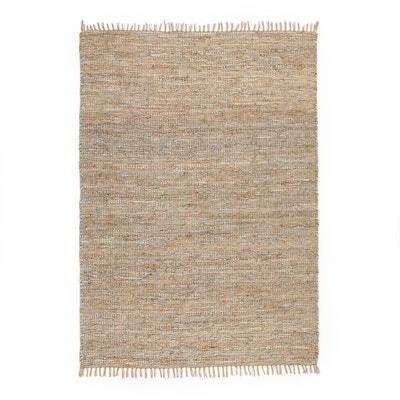 tapis jute et cuir aidas tapis jute et cuir aidas la redoute interieurs - Tapis En Jute