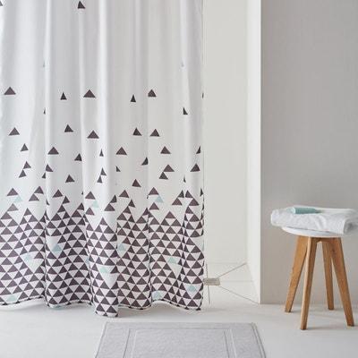Rideau de douche imprimé triangles FLY La Redoute Interieurs
