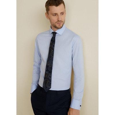 b08637160ff3d Chemise Tailored slim-fit coton MANGO MAN