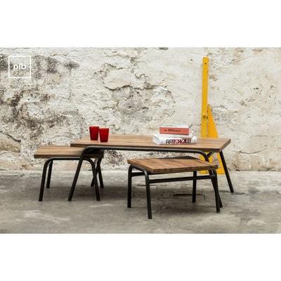 Table basse industrielle Regular PRODUIT INTERIEUR BRUT