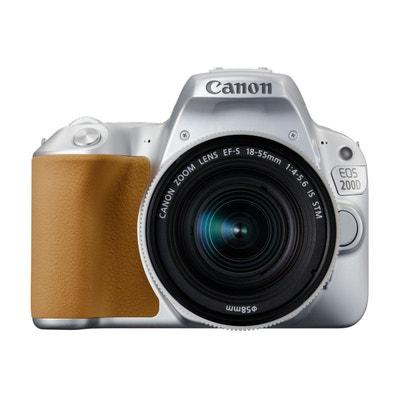 Appareil photo Reflex CANON EOS 200D Silver + 18-55mm IS STM Appareil photo Reflex CANON EOS 200D Silver + 18-55mm IS STM CANON
