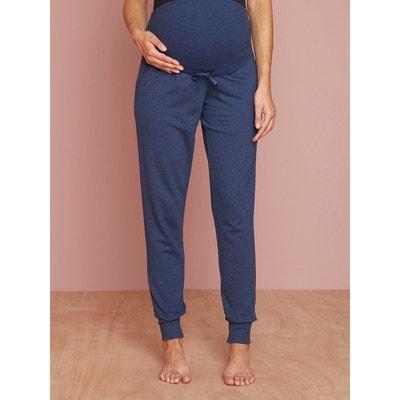 Pantalon cocooning grossesse en molleton VERTBAUDET