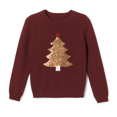 Pull albero di Natale in paillettes 3 - 12 anni Pull albero di Natale in paillettes 3 - 12 anni La Redoute Collections