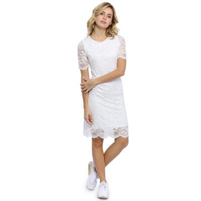 robe blanche robe femme la la redoute redoute femme blanche FKlTc1J