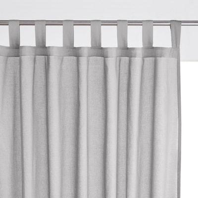 voilage gris la redoute. Black Bedroom Furniture Sets. Home Design Ideas