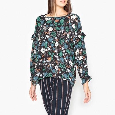 """Bedruckte Bluse """"Gump"""" mit Volantdetails Bedruckte Bluse """"Gump"""" mit Volantdetails TOUPY"""