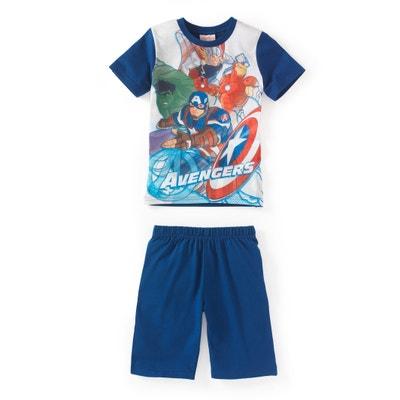 Pijama estampado com calções 2 - 12 anos Pijama estampado com calções 2 - 12 anos MARVEL